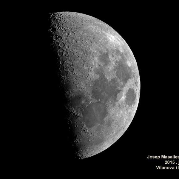Lluna - Quart creixent