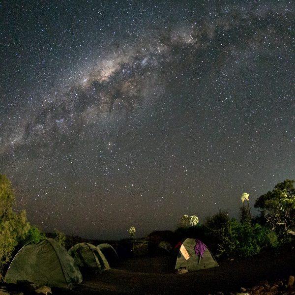 Via Làctia - Namíbia